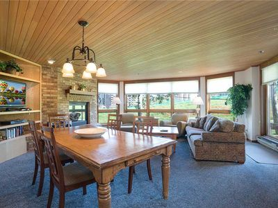 Photo for NO CLEANING FEE ~ CX111 by Mountain Resorts: DIRECT ACCESS TO SLOPES FROM PATIO