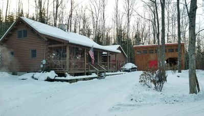 "Photo for ""Big Mer Cabin""  - Minutes from Cannon, Franconia NH & NH's White Mountains!"