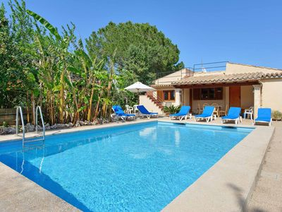 Photo for Villa Magdalena - Close to local amenities has WI-FI, a private pool & A/C