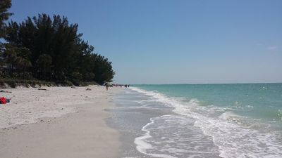 Photo for Right on the Gulf! Beautiful white sandy beachfront! Safe, quiet, and friendly!