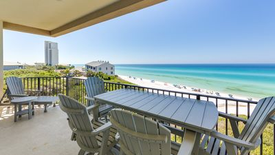 Photo for Renovated Gulf Front Condo, 4 Bd/ 3Ba. 4 Bikes + $250 Credit for Beach Gear
