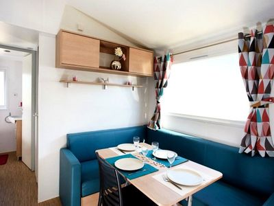 Photo for Camping Mas Llinas *** - Mobile Home Trigano 3 Rooms 4 Persons