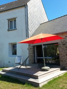 Photo for Spacious Brittany house between garden and sea