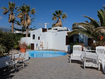 Photo for Beautiful house with sea views, swimming pool and large sun terrace for 4 pers.