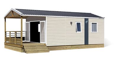 Photo for Camping Le Paradis **** - 3-room Crocus mobile home for 4 people