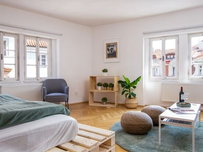 Photo for Lesser Town Beauty at Charles Bridge Trziste - Apartment for 9 people in Praha