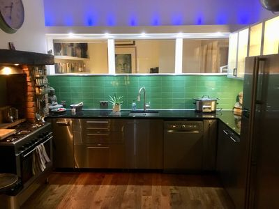 Large modern fully equipped kitchen