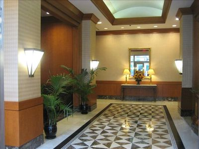 Lobby with 24 hour doorman and concierge
