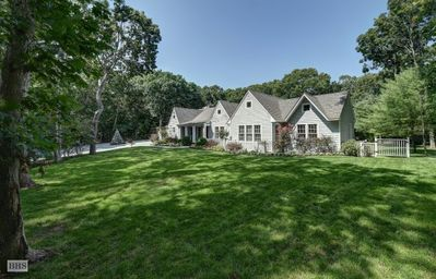 Photo for 6 Bedroom Summer Retreat with Heated Pool, Hot Tub, & New Har Tru Tennis Court