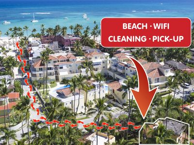 Photo for Deluxe Beach House 8 people PickUp WiFi Cleaning