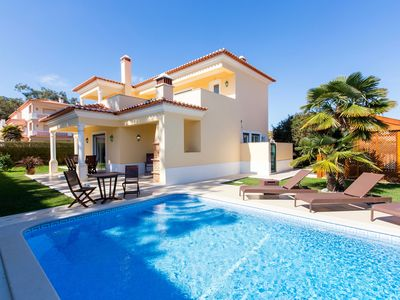Photo for Gorgeous 3 bedroom villa at Praia del Rey, heated pool & free WiFi