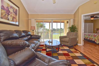 Living Room with great golf course view