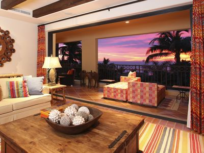 Photo for New beautiful hacienda style interior- luxury beachfront 2 bedroom