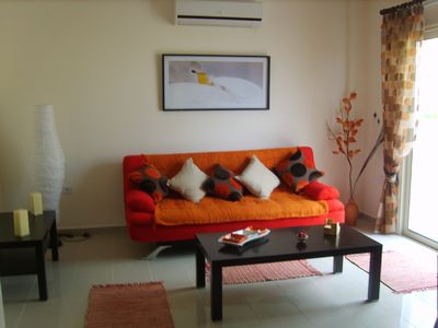Photo for Luxury 1 Bed Apartment, Communal Pool, Childs Pool & Private Balcony