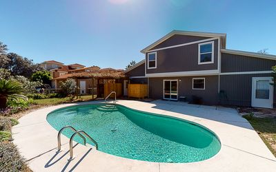 Photo for Newly Renovated Duplex, Private Pool, Perfect for Two Families, 4 Bikes