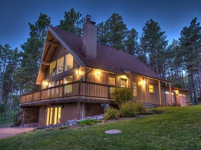 Photo for Upscale Home Overlooking Bear Country USA, Near Rushmore, Keystone, Rapid City