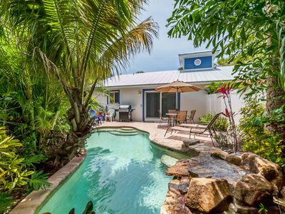 Photo for Ahoy Matey: Adorable Villa with PRIVATE Heated Pool, Very Short Block to Beach!!