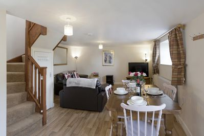 Practical and spacious open plan living
