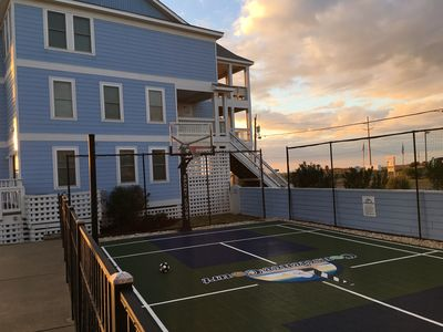 Photo for Inside Cape Hatteras Nat'l Seashore, Steps from Beach with Personal Sport Court