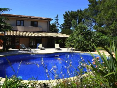 Photo for Villa on the hills near the beautiful town of Erice with pool