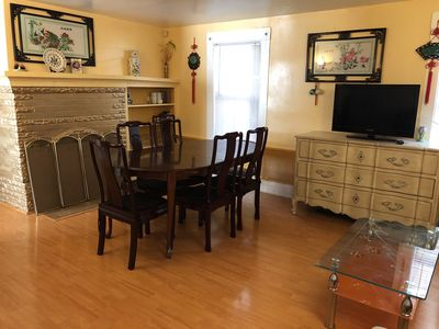 Photo for Nice corporate housing central location 6br 3bath 8  beds /parking +washer dryer