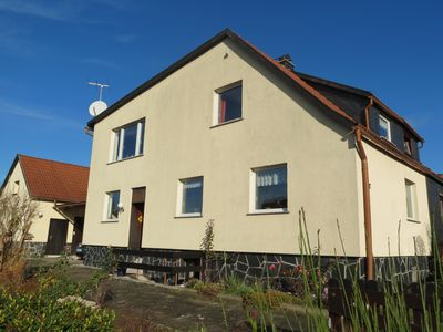 Photo for Cosy, family friendly holiday home with fireplace in the Thuringian Forest