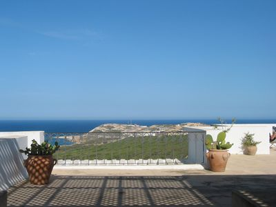 Photo for Villa overlooking the Mediterranean