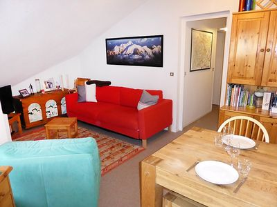 Photo for Apartment 350 m from the center of Les Contamines-Montjoie with Lift, Parking, Internet, Washing machine (113589)