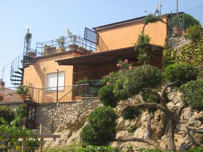 Photo for Dream vacation in Porto Santo Stefano. Wonderful holiday home with sea views.