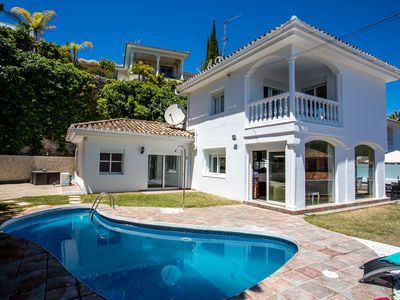 Photo for Puerto Banus - Private 5 bed villa with heated pool, walking to Puerto Banus
