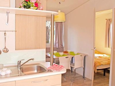 Photo for Camping Les Cigales **** - Mobile home Idaho 3 Rooms 4 Persons