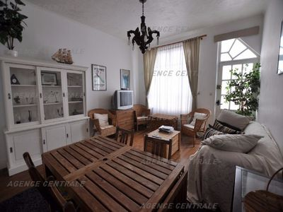 Photo for F3 on the ground floor of a touquettoise villa with courtyard