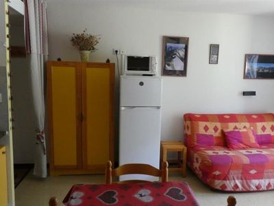 Photo for Apartment 5 people view on the slopes Aurans 220A Réallon