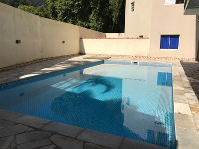 Photo for Apartment in Maresias top of the line high standard 5 minutes from the beach walking