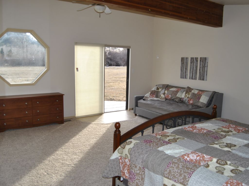 Durango House Rental   Master Bed #1, Daybed And Back Deck