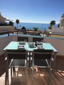 Photo for Penthouse Apartment With South-facing Terrace And Beautiful Sea Views.