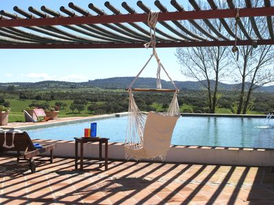 Photo for Stunning Villa with pool and views over vineyards and daily breakfast included