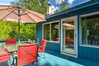 Make the most of your New Hampshire getaway at this 4BR, 2-bath vacation rental!