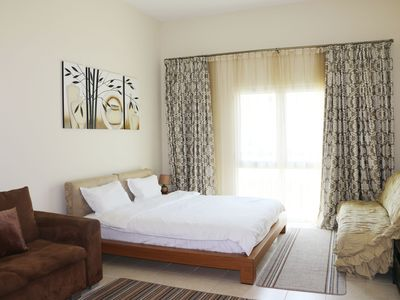 Photo for Family-Friendly Studio In Quiet And Green Area Of Dubai.