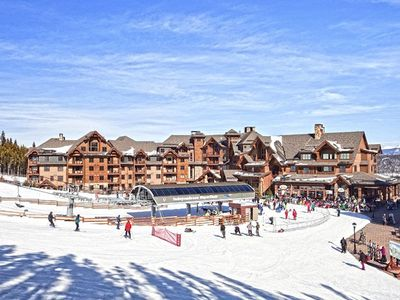 Photo for Ski in/out; 2 bedroom/2bath, sleeps 8. Ski in luxury this New Years.