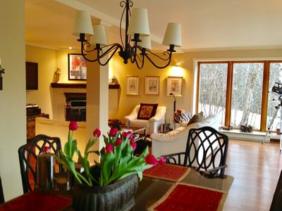 Photo for Superb, 3 bedroom , Mont-Tremblant Condo, amazing view, 2 minutes to mountain an
