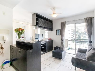 Photo for Bright and modern apartment near Shopping Centers, new appliances and fast wi-fi