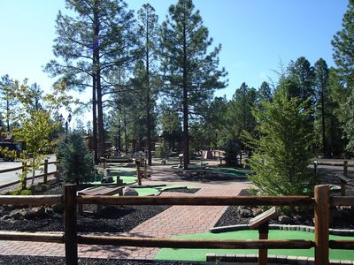 Photo for Relaxing Family-Friendly Log Cabins near White Mountains w/ Porches, Fireplace & Playground