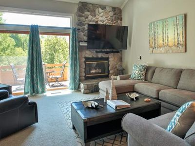 2 Level, 3 Bedroom Loft Condo at Trout Creek - #87. On-Site Pools, Pickleball, Hiking, Birding.