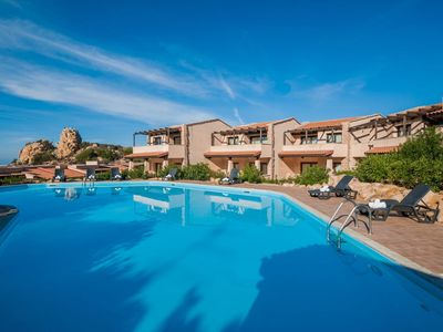 Photo for Apartment 232 m from the center of Costa Paradiso with Internet, Pool, Air conditioning, Parking (120195)