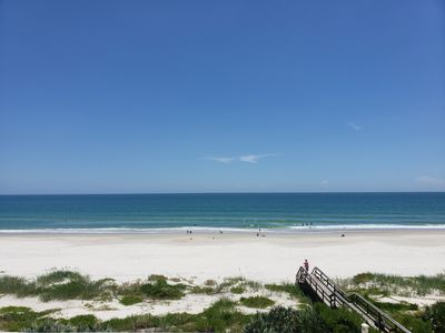 Photo for Beautiful, fully updated ocean front condo on no drive beach in Ponce Inlet, FL!
