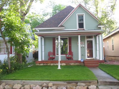 Photo for Gorgeous Mountain View's, Pets Welcome, Great Location, Walk to Town and Parks