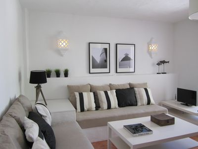 Photo for Apartment on the ground floor and private terrace with sea views