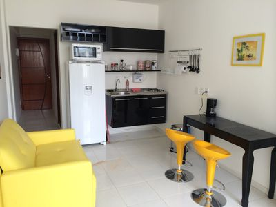 Photo for Beautiful and immaculate studio close to the beach and near the subway in Copacabana