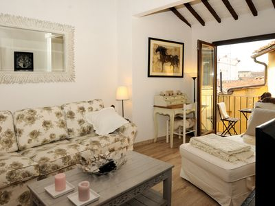 Photo for Lovely Light Apartment in  Florence City Center - AC-WiFi-Balcony